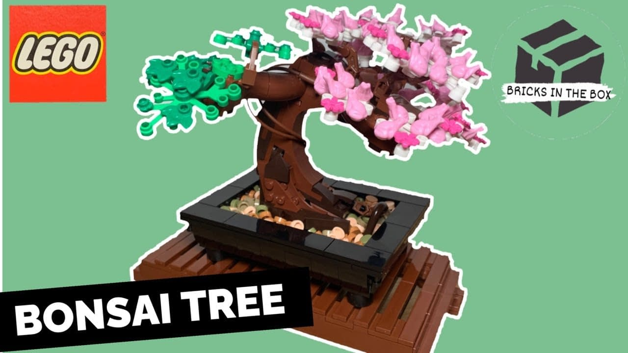 LEGO Bonsai Tree from the Botanical Collection